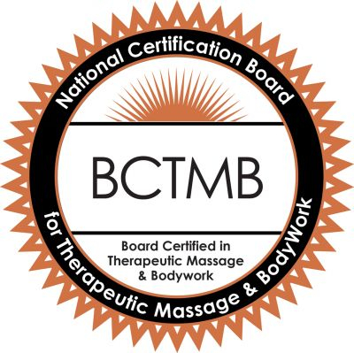 Board Certified in Therapeutic Massage & Bodywork